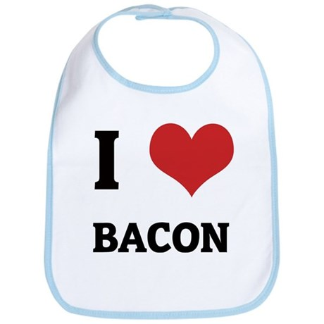 I Love Bacon Bib