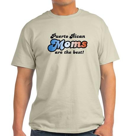 Puerto Rican Mom Light T-Shirt