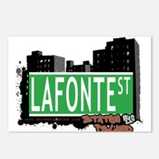 LAFONTE STREET, STATEN ISLAND, NYC Postcards (Pack