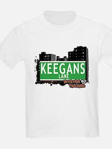 KEEGANS LANE, STATEN ISLAND, NYC T-Shirt
