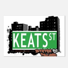 KEATS STREET, STATEN ISLAND, NYC Postcards (Packag