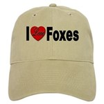 I Love Foxes for Fox Lovers Cap