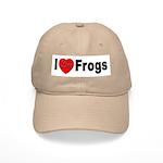 I Love Frogs Cap