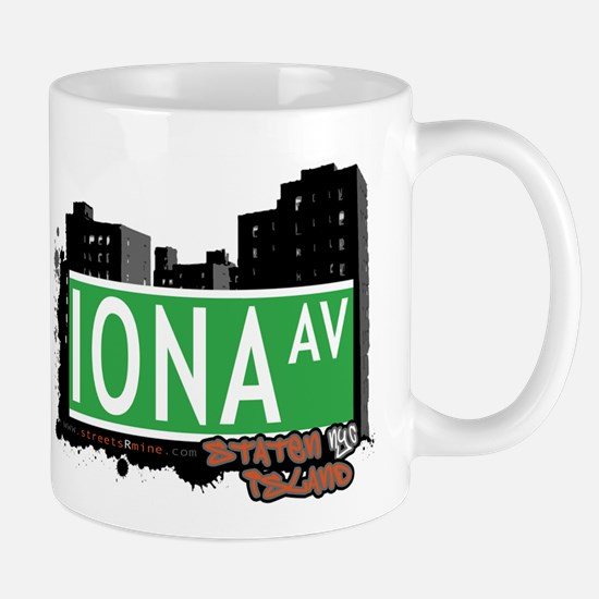 IONA AVENUE, STATEN ISLAND, NYC Mug