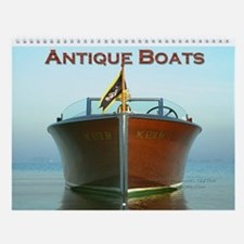 Antique Boats Custom Wall Calendar