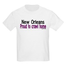 NOLA Crawl Home T-Shirt
