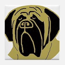 Funny Dog head Tile Coaster