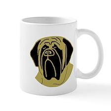 Unique Fawn mastiff puppy Mug