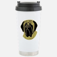 Cute Mastiff Travel Mug