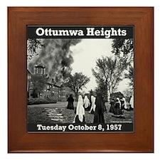 Ottumwa Heights Fire Framed Tile