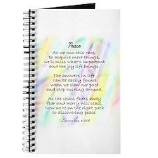 Peace Poem Journal