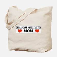 Chesapeake Bay Retriever Mom Tote Bag