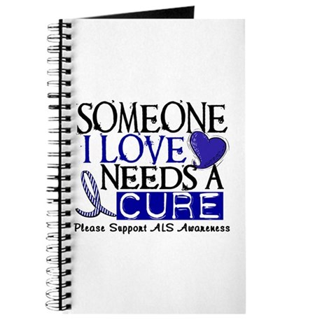 Needs A Cure ALS T-Shirts & Gifts Journal