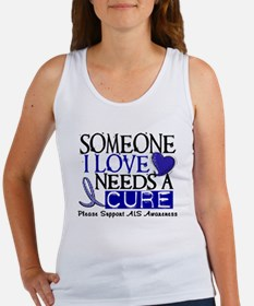 Needs A Cure ALS T-Shirts & Gifts Women's Tank Top