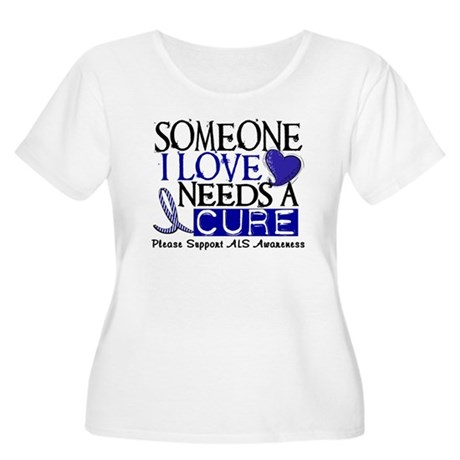 Needs A Cure ALS T-Shirts & Gifts Women's Plus Siz