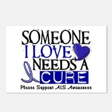 Needs A Cure ALS T-Shirts & Gifts Postcards (Packa
