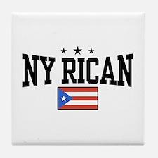 NY Rican Tile Coaster