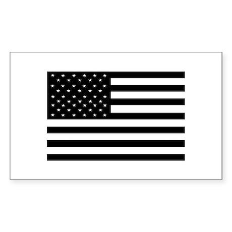 Black Flags Rectangle Sticker