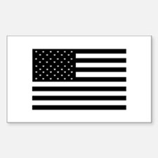 Black Flags Rectangle Decal