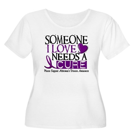 Needs A Cure ALZHEIMERS DISEASE Women's Plus Size