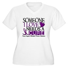 Needs A Cure ALZHEIMERS DISEASE T-Shirt