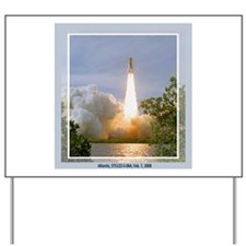 STS 122 Yard Sign