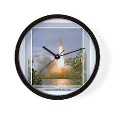 STS 122 Wall Clock
