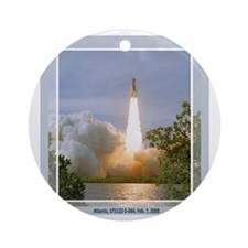 STS 122 Ornament (Round)