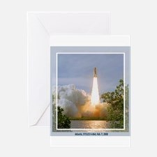STS 122 Greeting Card