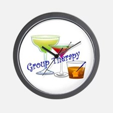 Group Therapy 2 Wall Clock