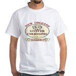 Oyster Eating Champion White T-Shirt