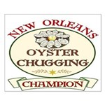 Oyster Eating Champion Small Poster