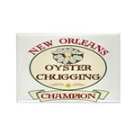 Oyster Eating Champion Rectangle Magnet