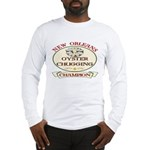 Oyster Eating Champion Long Sleeve T-Shirt