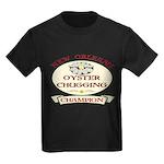 Oyster Eating Champion Kids Dark T-Shirt