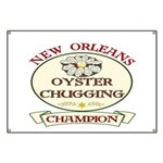 Oyster Eating Champion Banner