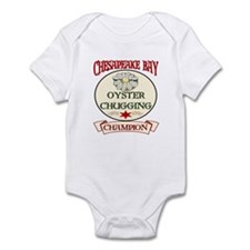 Chesapeake Bay Oysters Infant Bodysuit