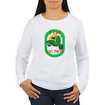 Motor Scooter Women's Long Sleeve T-Shirt