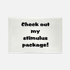 Stimulus Package Rectangle Magnet