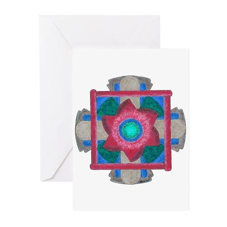 Protection Mandala Greeting Cards (Pk of 10)