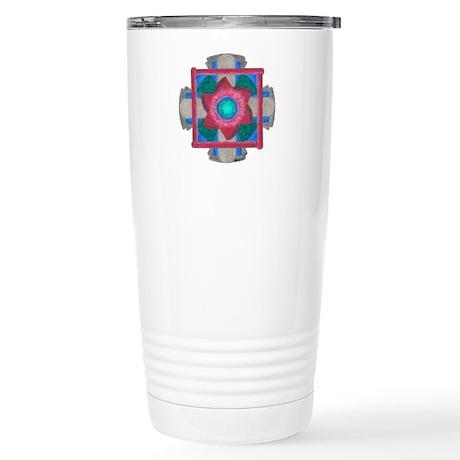 Protection Mandala Stainless Steel Travel Mug