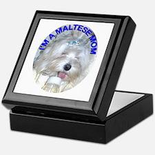 I'm A Maltese Mom Keepsake Box