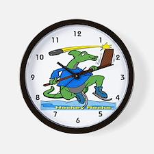 Hockey Rocks Wall Clock