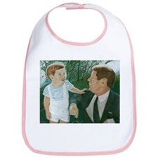 JFK and Son Bib