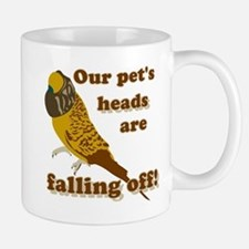 Our pet's heads are falling off! Mug