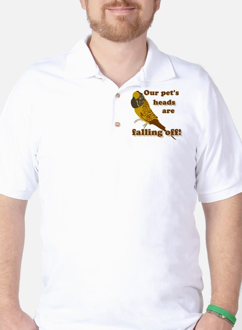 Our pet's heads are falling off! Golf Shirt