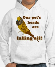 Our pet's heads are falling off! Hoodie