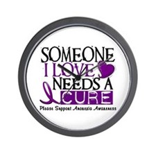 Needs A Cure ANOREXIA Wall Clock