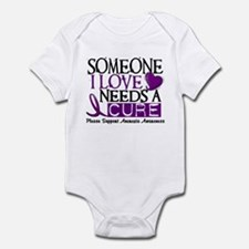Needs A Cure ANOREXIA Infant Bodysuit