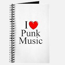 """""""I Love (Heart) Punk Music"""" Journal"""